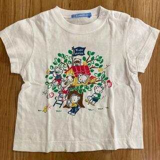familiar - ファミリア ファミちゃんおはなしTシャツ 90