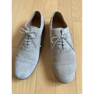 ムジルシリョウヒン(MUJI (無印良品))の無印良品 スウェードシューズ(ローファー/革靴)