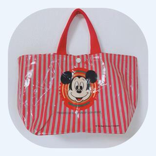 Disney - ハンドバッグ ランチバッグ レトロミッキー
