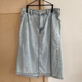 エイチアンドエム(H&M)のH&M デニムスカート(ひざ丈スカート)