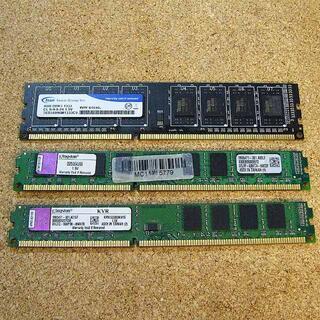 デスクトップ用PCメモリ  3枚