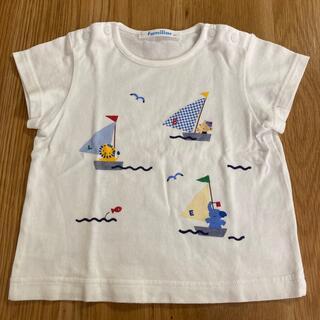 familiar - ファミリア ファミちゃんTシャツ 80