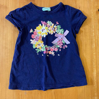 ハッカキッズ(hakka kids)のHakka kids 半袖Tシャツ サイズ100(Tシャツ/カットソー)