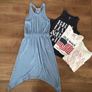 Old Navy - オールドネイビー ワンピース Tシャツ まとめ買い 女の子 140-150