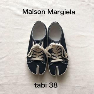 Maison Martin Margiela - 美品★メゾンマルジェラ★tabi スニーカー 38 黒 足袋