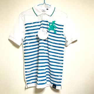 ディズニー(Disney)のドナルド ポロシャツ M 吸汗速乾 未使用 送料込(ポロシャツ)