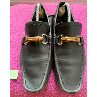 グッチ(Gucci)のグッチ 革靴 9 27.5センチ 黒(ドレス/ビジネス)