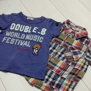 DOUBLE.B - Tシャツ、シャツセット