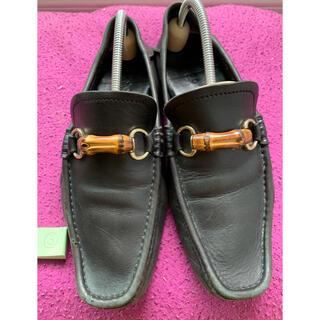 グッチ(Gucci)のグッチ 革靴 27センチ 黒(ドレス/ビジネス)