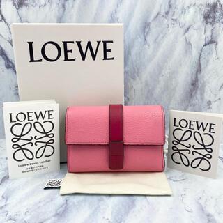 LOEWE - 【美品】ロエベ★スモール バーティカル ウォレット 保証書 箱 保存袋付き