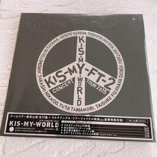 キスマイフットツー(Kis-My-Ft2)のKIS-MY-WORLD Blu-ray(アイドル)