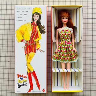 Barbie - (中古)マテル 復刻バービー ツイスト&ターン スマッシュルー(レッドヘア)