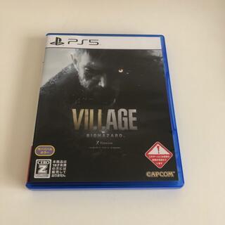 プレイステーション(PlayStation)のPS5 バイオハザード ヴィレッジ(家庭用ゲームソフト)