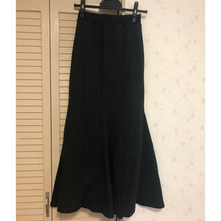 アパルトモンドゥーズィエムクラス(L'Appartement DEUXIEME CLASSE)のSaaage boutique スウェットマーメイドスカート(ロングスカート)