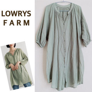 LOWRYS FARM - LOWRYS FARM ローリーズファーム チュニックブラウス