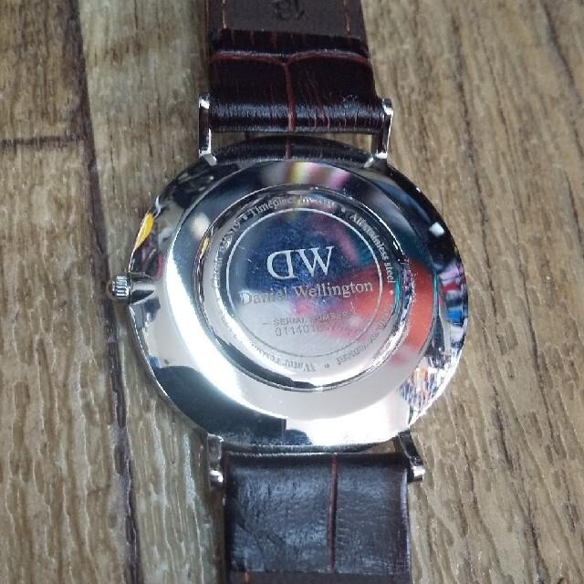 Daniel Wellington(ダニエルウェリントン)の美品最安値DW時計帽子セット メンズの時計(腕時計(アナログ))の商品写真