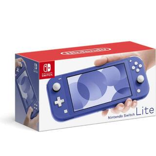 ニンテンドースイッチ(Nintendo Switch)のSwitch Lite ブルー(携帯用ゲーム機本体)