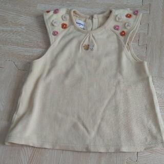 ファミリア(familiar)のファミリア 綿100 ノースリーブ 90サイズ(Tシャツ/カットソー)