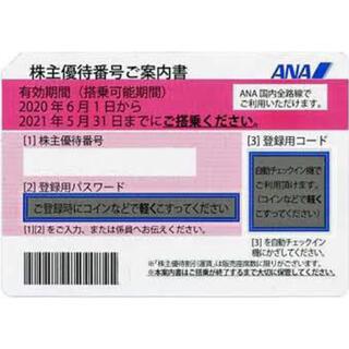エーエヌエー(ゼンニッポンクウユ)(ANA(全日本空輸))のANA株主優待券 2枚 2021年11月30日まで有効 即番号通知可(その他)
