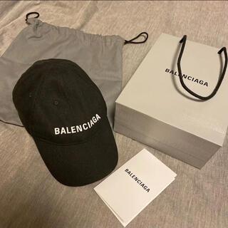 Balenciaga - BALENCIAGA キャップ ブラック