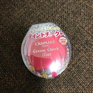 キャンメイク(CANMAKE)のキャンメイク クリームチーク ティント No.03 ピオニーメロウ(チーク)