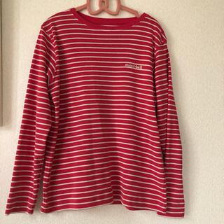 mont bell - モンベルキッズ ボーダーロングスリーブTシャツ 140cm