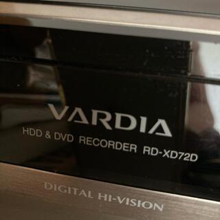 トウシバ(東芝)の東芝 RD-XD72D DVD/HDDレコーダー(DVDレコーダー)