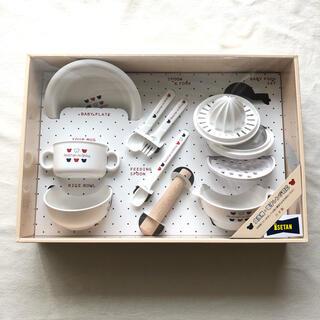 ファミリア(familiar)の新品未使用★赤ちゃんの城★離乳食 食器セット(離乳食器セット)