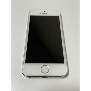 iPhone - iPhone5S silver 32GB docomo