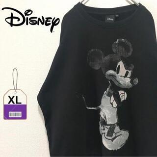 ディズニー(Disney)の【激レア】ディズニー Disney スウェット ゆるダボ ミッキーマウス(スウェット)