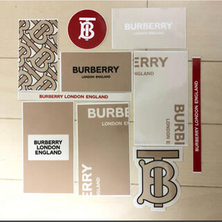BURBERRY - BURBERRY バーバリー sticker ステッカー 非売品