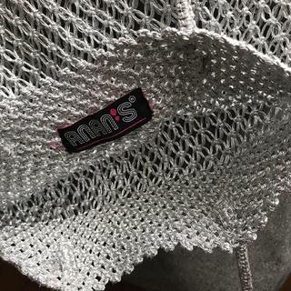 green label relaxing - シルバーの柔らかい素材のバッグ  美品