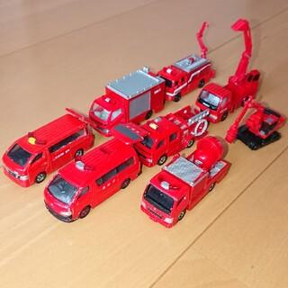 トミー(TOMMY)のトミカ 消防車セット(ミニカー)
