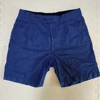 エンジニアードガーメンツ(Engineered Garments)のEngineered Garments  Sunset Short ネイビー S(ショートパンツ)