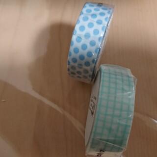 エムティー(mt)のmtドットアイス&方眼ミントブルーマスキングテープ(テープ/マスキングテープ)