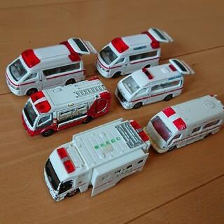 トミー(TOMMY)のトミカ 救急車セット(ミニカー)