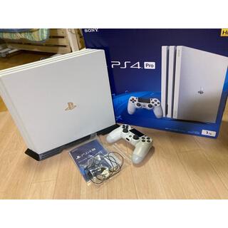 PlayStation4 - ★美品★PlayStation 4 Pro グレイシャー・ホワイト