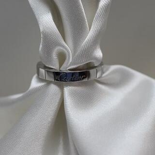 カルティエ(Cartier)の カルティエ Cartier ラニエール リング(8号)ホワイトゴールド 仕上済(リング(指輪))