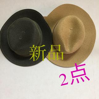 アーバンリサーチ(URBAN RESEARCH)の新品 麦わら帽子 2点セット(麦わら帽子/ストローハット)
