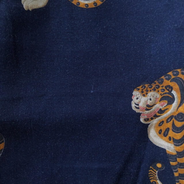 WACKO MARIA(ワコマリア)のWACKO MARIA ハワイアン ショーツ アロハ 虎柄 ネイビー メンズのパンツ(ショートパンツ)の商品写真