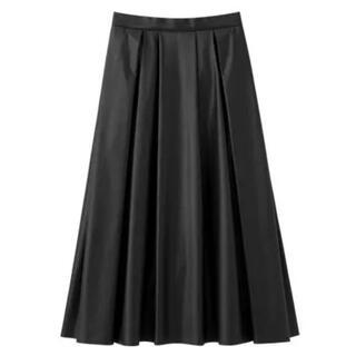 エムプルミエ(M-premier)のBLENHEIM エコレザースカート(ロングスカート)