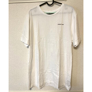 OFF-WHITE - off-white ロゴTシャツ オフホワイトsupremeヴィトン