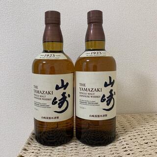 サントリー - シングルモルトウイスキー 山崎 700ml  2本セット