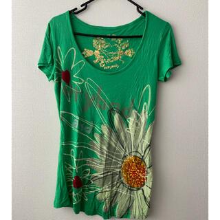 デシグアル(DESIGUAL)の送料込み 美品 desigual カットソー(Tシャツ(半袖/袖なし))