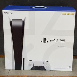 プレイステーション(PlayStation)のPS5 PlayStation5 本体 ディスクドライブ搭載モデル(家庭用ゲーム機本体)