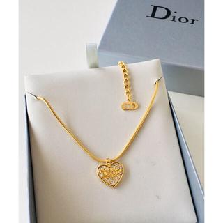 Christian Dior - Christian Dior クリスチャン・ディオール  ハート ネックレス