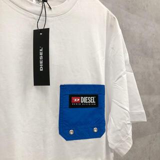 新品未使用 DIESEL 半袖 Tシャツ L ホワイト 白