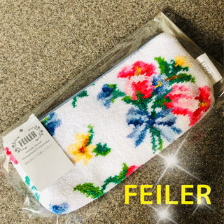FEILER - フェイラーベルフラワーファスナー部分のチャームが可愛いペンケース新品