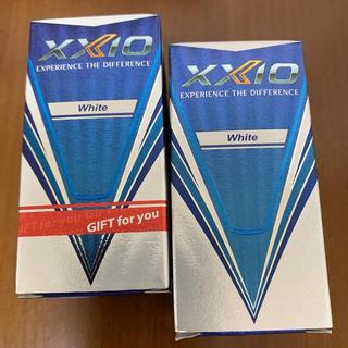 ダンロップ(DUNLOP)のゼクシオ10  ホワイト 4個 新品未使用 新鮮です❗️22 11❗️(その他)