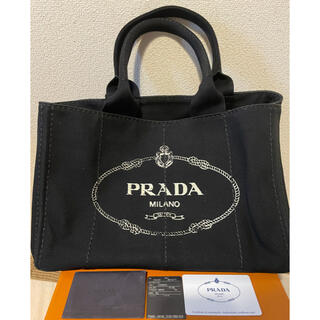 PRADA - 【美品】PRADA カナパ NERO(黒)【正規品】
